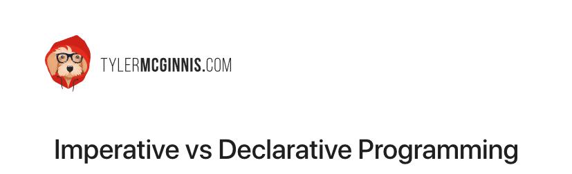 Императивное vs Декларативное программирование в javascript