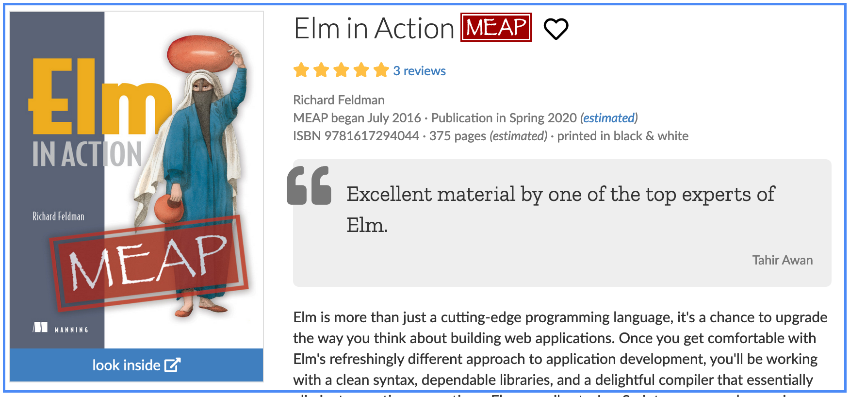 elm in action preview book