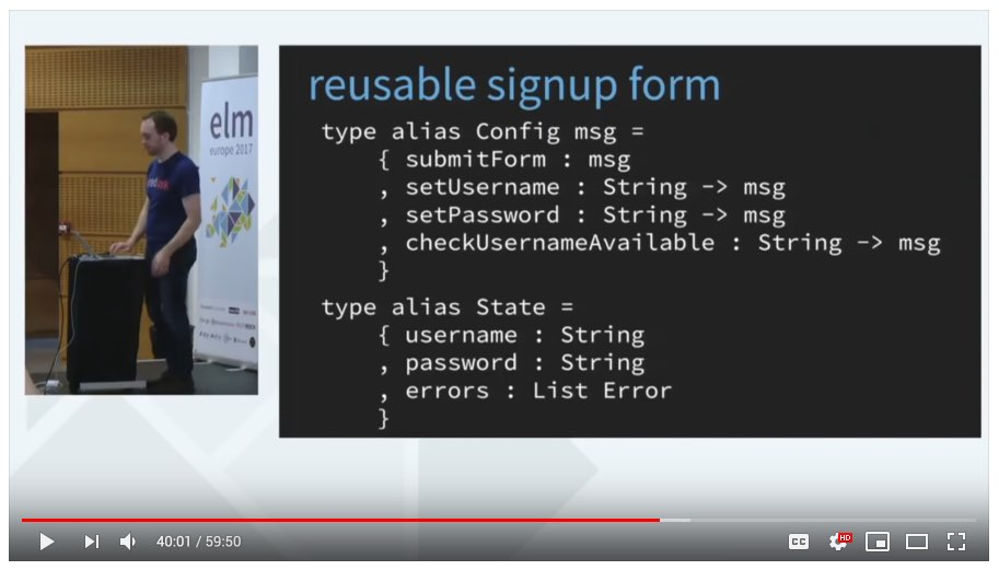 reusable signup form